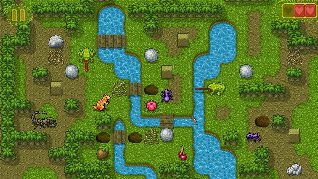 Chipmunk's Adventures - Puzzle