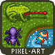Pixel Art Animated Forest Animals